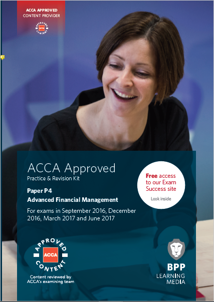 ACCA LSBF P4 Advanced Financial Management Free Study Material