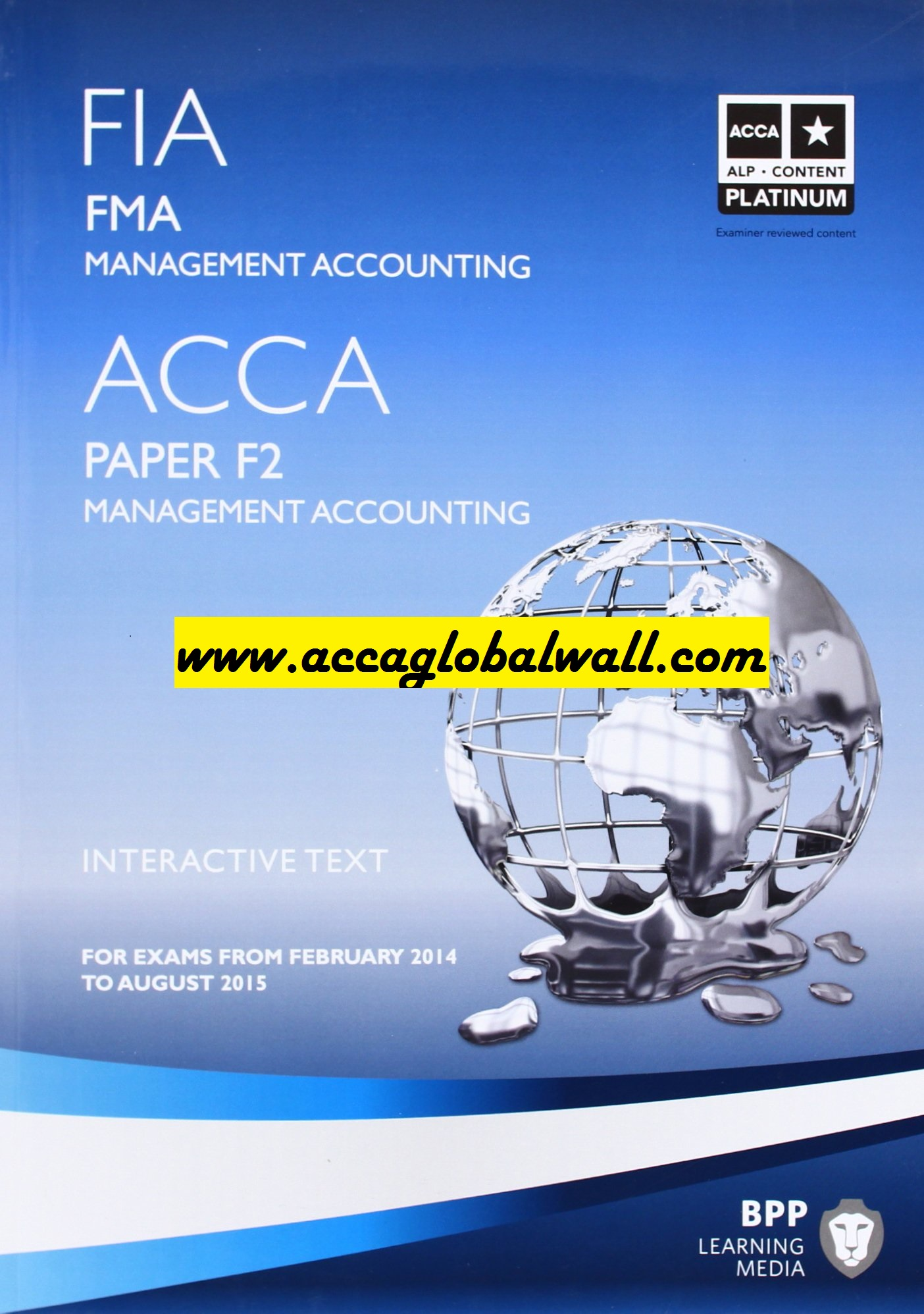 ACCA F2 Becker Study Material PDF