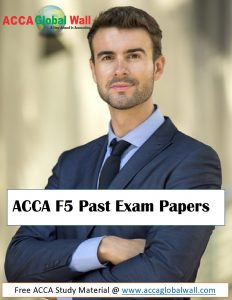 ACCA F5 Past Exam Papers