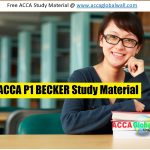 ACCA P1 BECKER Study Material accaglobalwall.com