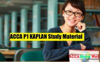 ACCA P1 KAPLAN Study Material accaglobalwall.com