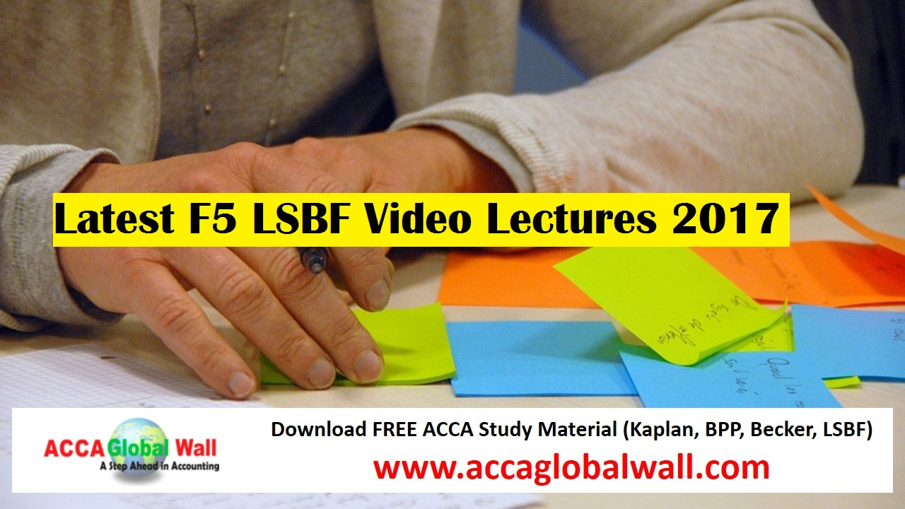 Latest F5 LSBF Video Lectures 2017