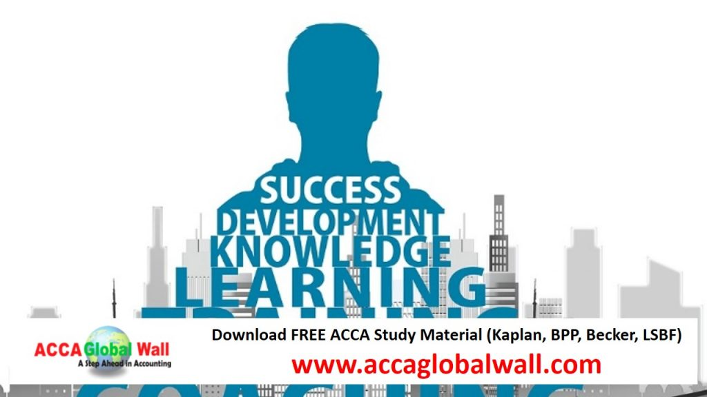 Latest LSBF F3 Video Lectures Free Download - ACCA Study Material