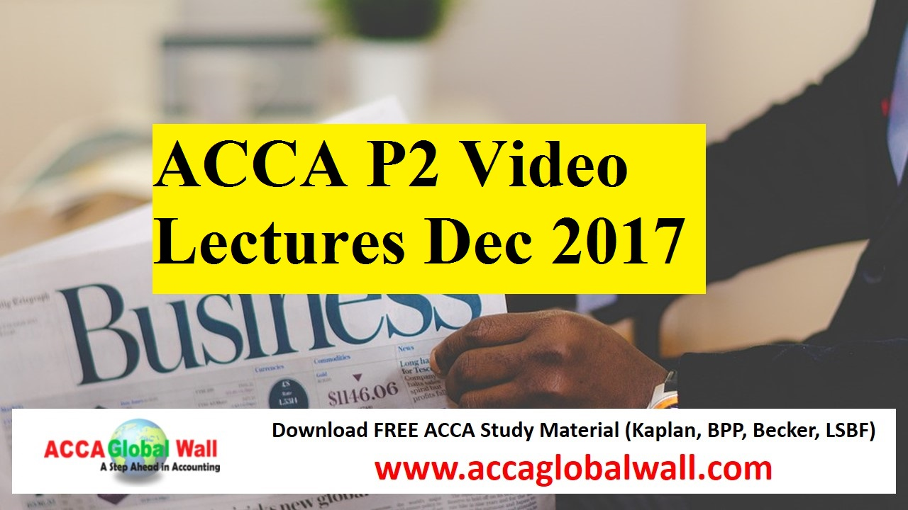 Free Accounting Study Material - WeACCA free acca study ...