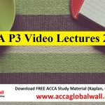 ACCA P3 Video Lectures 2017