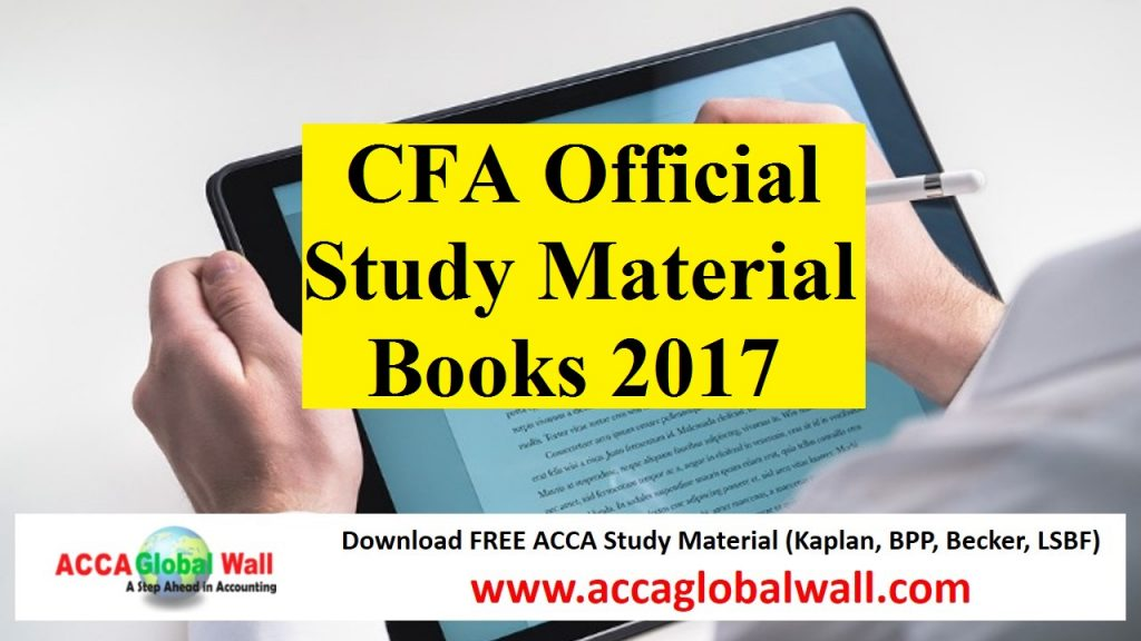 CFA Level 1 Exam Prep and Study Materials - Kaplan Schweser
