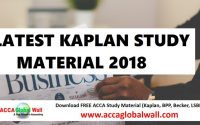 LATEST-KAPLAN-STUDY-2018