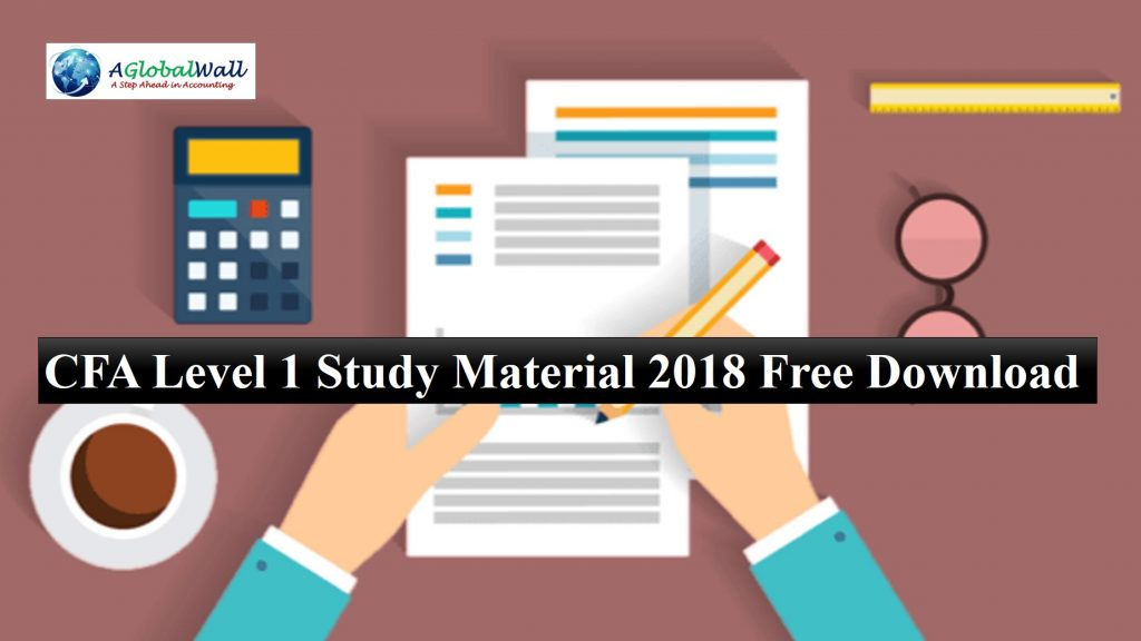 CFA Level 1 Study Material 2018 Free Download - ACCA Study Material
