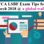 ACCA LSBF Exam Tips for March 2018