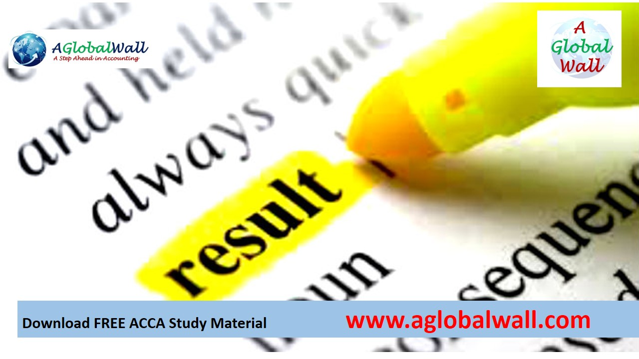 ACCA March 2018 exam results Announced and Pass Rates