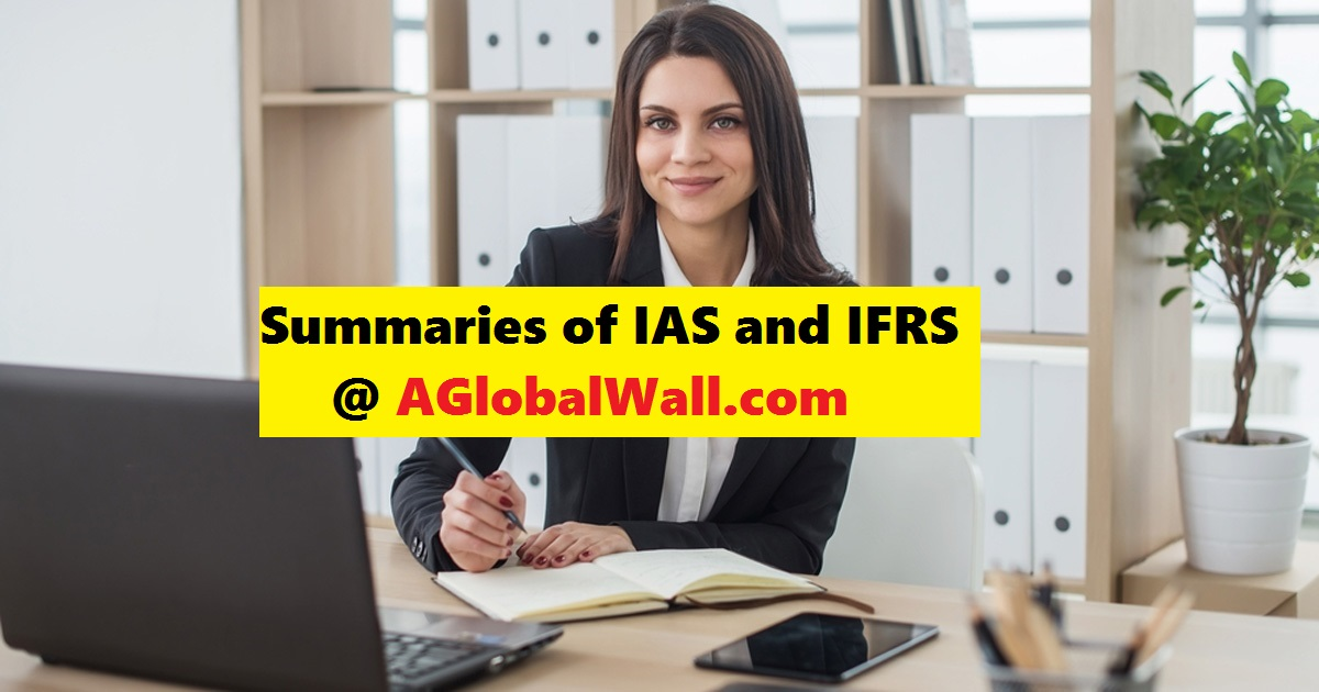 Summaries of IAS and IFRS