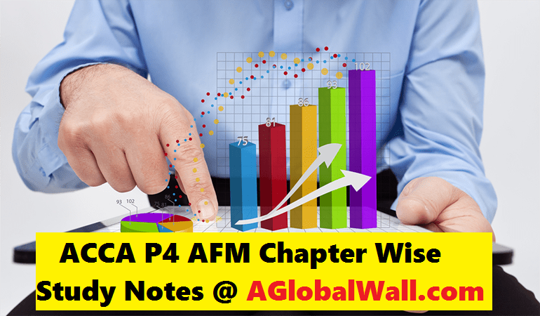 ACCA P4 AFM Chapter Wise Study Notes