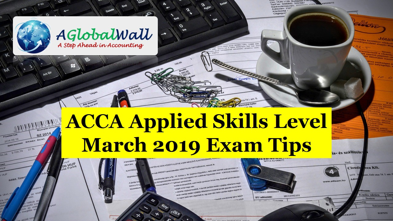 March 2019 Exam Tips