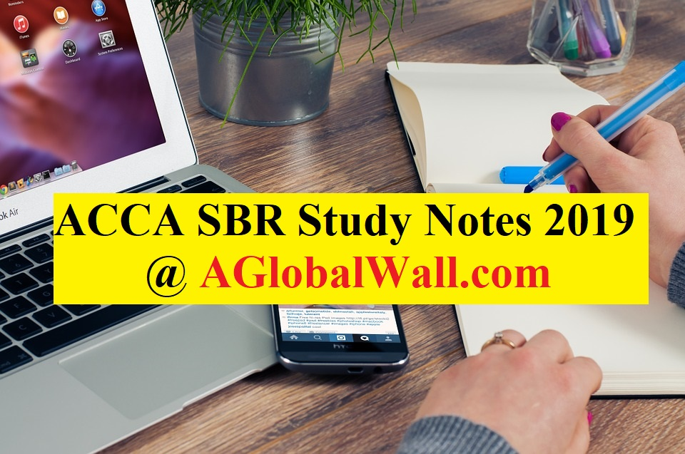 ACCA Strategic Business Reporting (SBR) Study Notes