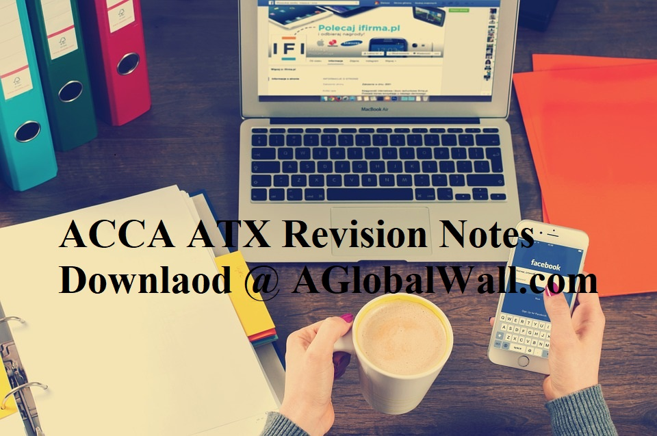 ACCA ATX Revision Notes Downlaod